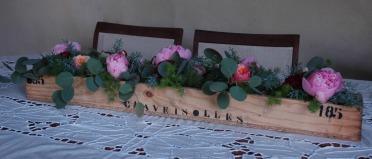 mariage vintage pivoines
