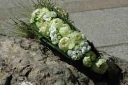 bouquet mariée pochette moderne
