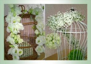 cages mariage romantique