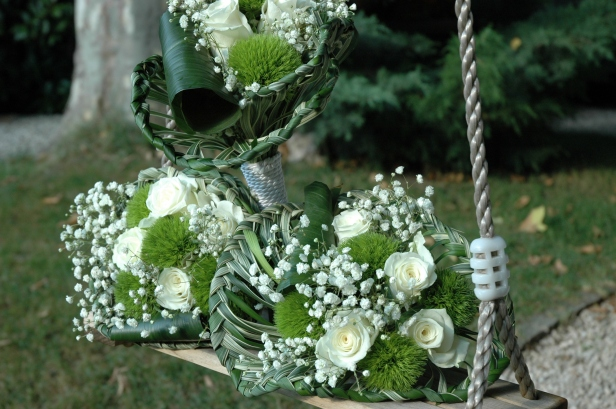 bouquets mademoiselles d'honneur